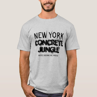 NEW YORK CONCRETE JUNGLE SHIRTS