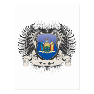 New York Crest Postcard