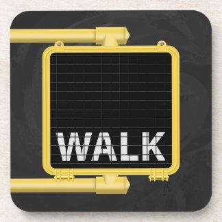 New York Crosswalk Sign Walk Coaster