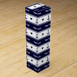 New York cruises pattern Wine Gift Box