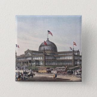 New York Crystal Palace Pinback Button
