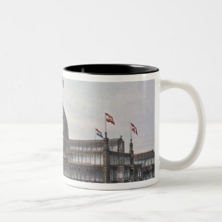 New York Crystal Palace Two-Tone Coffee Mug