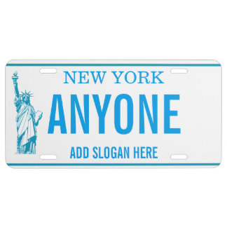NEW YORK Customized  License Plate