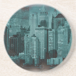 New York - Damaged Photo Effect Coaster