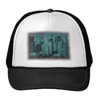 New York - Damaged Photo Effect Trucker Hat