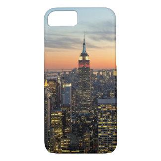 New York dawn skyline iPhone 7 Case