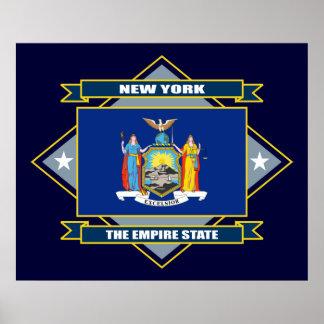 New York Diamond Poster