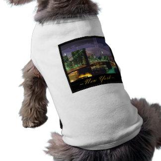 new-york dog t-shirt