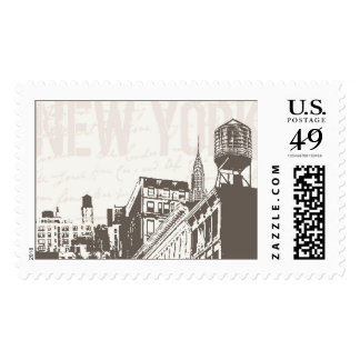 New York Downtown Grunge | Atelier Isabey Stamps