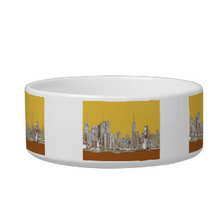 New York drawing Bowl