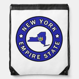 New York Drawstring Backpack