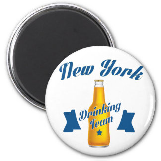 New York Drinking team Magnet