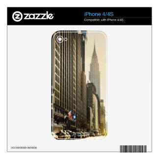 New York, E 42 St and Chrysler Building iPhone 4S Decals