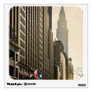 New York, E 42 St and Chrysler Building Wall Skins