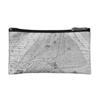 New York: El Train, C1878 Cosmetic Bag