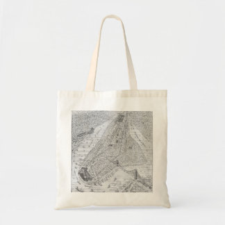 New York: El Train, C1878 Tote Bag