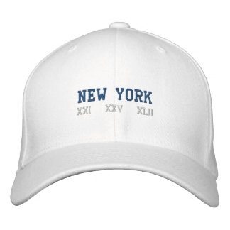 New York Embroidered Baseball Caps