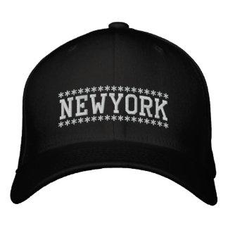 New York Embroidered Baseball Hat