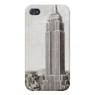 New York Empire State Building iphone 4 Case