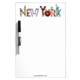 New York erasure board