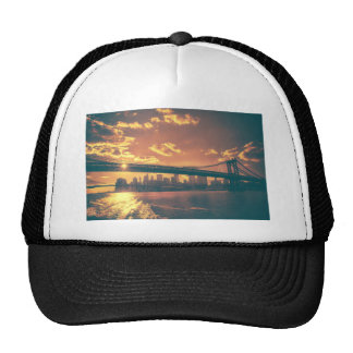 New York Fairy Tale - Beautiful Skyline Trucker Hat