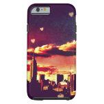 New York Fairy Tale - Skyline Hearts iPhone 6 Case