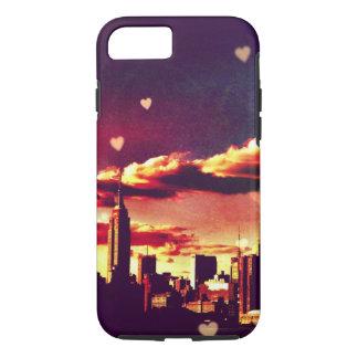 New York Fairy Tale - Skyline Hearts iPhone 8/7 Case
