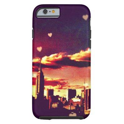 New York Fairy Tale - Skyline Hearts Tough iPhone 6 Case