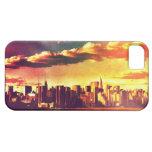 New York Fairytale Skyline - Rainbow iPhone 5 Covers