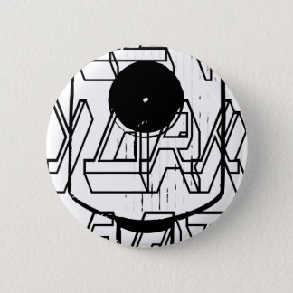 New York Fat Pinback Button