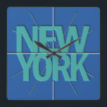 "New York Finance Timezone Wall Clock<br><div class=""desc"">This wall clock is part of a series of corporate clocks of the major Stock Exchanges around the globe. The series encompasses the major exchanges for Trading currencies ( Forex ) and general financial instruments. Set each clock for the markets that you trade to the appropriate time and you will...</div>"