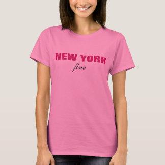 New York Fine T-Shirt