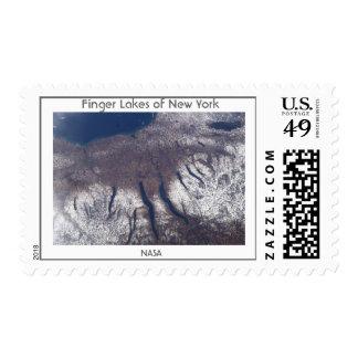 New York Finger Lakes Postage