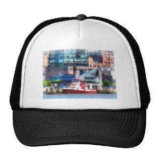 New York Fire Boat Trucker Hat