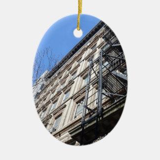 New York Fire Escape Ornaments