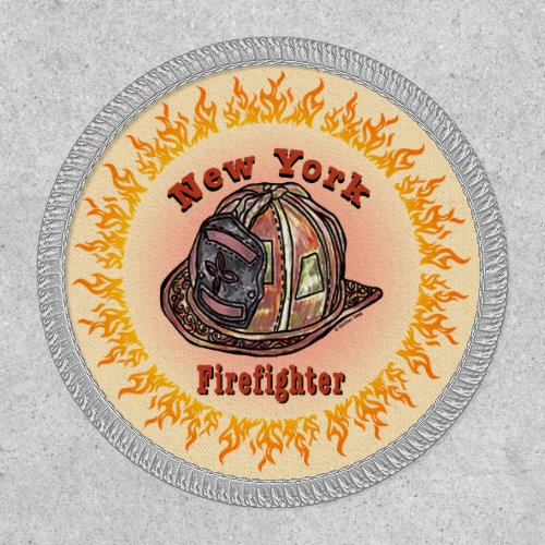 New York Firefighter Patch