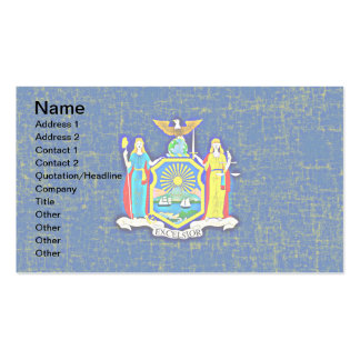 NEW YORK FLAG Double-Sided STANDARD BUSINESS CARDS (Pack OF 100)