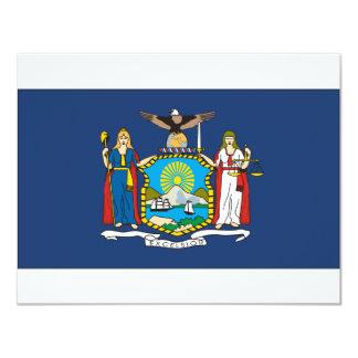 New York Flag Card