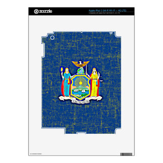 NEW YORK FLAG DECALS FOR iPad 3