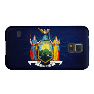 New York Flag Fireworks Galaxy S5 Cover