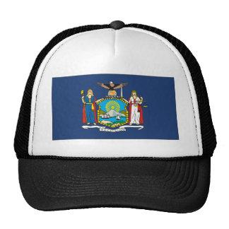 New York Flag Mesh Hats