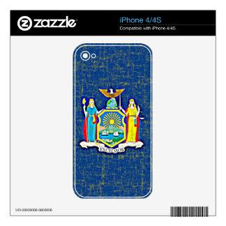 NEW YORK FLAG iPhone 4 SKINS