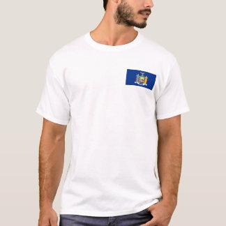 New York Flag + Map T-Shirt