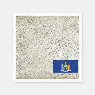 New York Flag Standard Cocktail Napkin