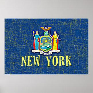 NEW YORK FLAG POSTER