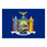 New York Flag Posters