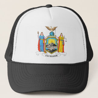 New York Flag Theme 00 Trucker Hat