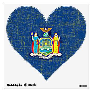 NEW YORK FLAG Wall Decal