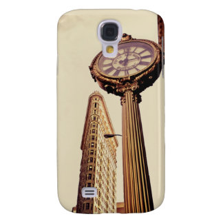 New York - Flatiron Building and Clock Galaxy S4 Cover