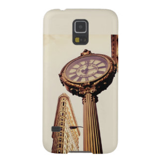 New York - Flatiron Building and Clock Galaxy S5 Cover